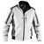 Wetter-Dress Jacke 13675229 weiß-anthrazit, Größe XS Kontrast-Elemente:...