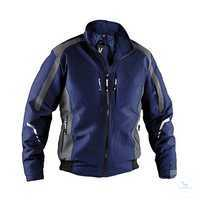 Wetter-Dress Jacke 13675229 dunkelblau-anthrazit, Größe XS Kontrast-Elemente:...
