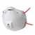 Partikelmaske FFP3 R D, 8833 Komfortabler, leichter und stabiler Maskenkörper...