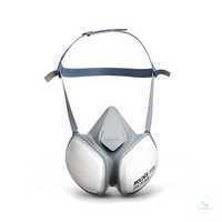 Halbmaske CompactMask 5120 FFA1P2 RD Wartungsfreie, sofort einsatzbereite...
