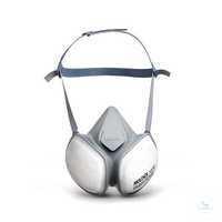 Halbmaske CompactMask 5430 FFA1B1E1K1P3 RD Wartungsfreie, sofort...