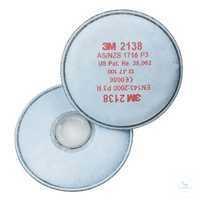 P3 Partikelfilter, 2138 mit Aktivkohle Das umfangreiche 3M-Filterprogramm...