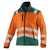 KÜBLER REFLECTIQ Jacke 1507-8427-3765 warnorange-moosgrün Größe XS...