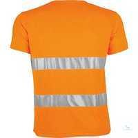 Warnschutz-T-Shirt 161035 warnorange Größe S Hochwertige Materialkombination...