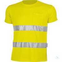 Warnschutz-T-Shirt 161036 warngelb Größe S Hochwertige Materialkombination...