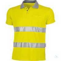 Warnschutz-Poloshirt 162036 warngelb Größe S Hochwertige...