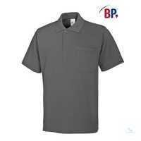 Poloshirt für Sie&Ihn 1612 181-53 dunkelgrau Größe XL 1/2-Arm, Polokragen mit...