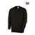 Sweatshirt für Sie&Ihn 1623193-32 schwarz Größe XS 1/1-Arm, Rundhals, Ärmel-...