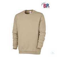 Sweatshirt für Sie&Ihn 1623193-47 ecru Größe S 1/1-Arm, Rundhals, Ärmel- und...