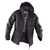 Wetter-Dress Jacke 16415228-9899 dunkelgrau-schwarz Größe XS 2 Seitentaschen...