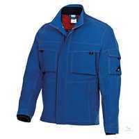 Arbeitsjacke 1795720-13 königsblau-nachtblau Größe 46N Robustes Markengewebe...