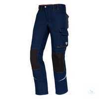 Arbeitshose Comfort Plus 1803 720 110 Nachtblau Größe 44N Doppelter Bundknopf...