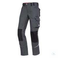 Arbeitshose Comfort Plus 1803 720 5332 Dunkelgrau-schwarz Größe 44N Doppelter...