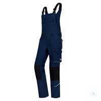 Latzhose Comfort Plus 1804 720 110 Nachtblau Größe 54S Stretchträger mit...