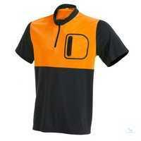 T-Shirt Cooldry 19-5200 leuchtorange-anthrazit Größe S Das T-Shirt Cooldry...