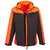 Softshell-Jacke 2-6301 grau-leuchtorange Größe S Softshell-Jacke winddicht,...