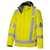 Wetterschutzjacke 2030880-86 warngelb Größe XS Stehkragen mit weichem...