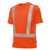 Hi-Vis COMFORT T-Shirt 2131260-85 warnorange Größe XS T-Shirt mit Rundhals,...