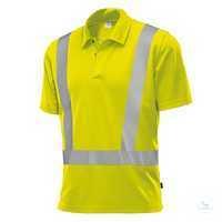 Hi-Vis COMFORT Poloshirt 2132260-86 warngelb Größe XS Polokragen mit...