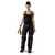 Damen Bundhose 21245353 schwarz-mittelrot, Größe 34 Kontrast-Elemente:...