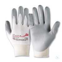 Camapur® Comfort 619 Größe 6 Polyurethan-beschichteter Handschuh für leichte...