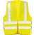 Warnweste Max 2261 fluor. gelb Größe L Doppelringverschluss mit...