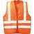 Warnweste Wilfried 2262 fluor. orange Größe L Doppelringverschluss mit...