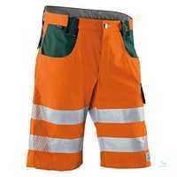KÜBLER REFLECTIQ Shorts 2307-8340-3765 warnorange-moosgrün Größe 42...
