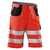 KÜBLER REFLECTIQ Shorts 2307-8341-5499 warnrot-schwarz Größe 42 Ergonomische...