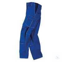Hose 2346 3411 4648 kornblumenblau-dunkelblau Größe 102 2 eingearbeitete...