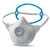 Einwegmaske 2395 VdGW 4 mit SoloBand® FFP-Maske mit SoloBand® und den...