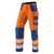 KÜBLER REFLECTIQ Hose 2407-8343-3746 warnorange-kornblumenblau Größe 102...