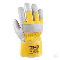 TOP Rindvollleder-Handschuh K2 1108 Größe 8 Gefütterter Vollleder-Handschuh,...