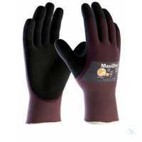MaxiDry® 2372 Größe 7 Nahtlos gestrickte Schutzhandschuhe für mechanische...
