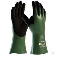 MaxiChem® Cut™ 2383 Größe 8 Nahtlos gestrickte Chemikalienschutzhandschuhe...