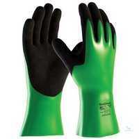 MaxiChem® 2384 Größe 10 Nahtlos gestrickte Chemikalienschutzhandschuhe mit...