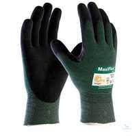 MaxiFlex® Cut™ 2490 Größe 6 Nahtlos gestrickte Strickhandschuhe mit...