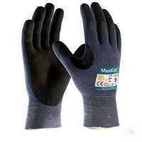 MaxiCut® Ultra™ 2495 Größe 7 Nahtlos gestrickte Schnittschutz-Handschuhe mit...