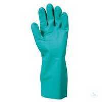 Nitri-Solve® 730, Größe 7 Chemikalienschutzhandschuh mit Schutzstulpe. Ideal...