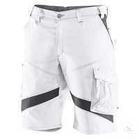 ACTIVIQ Shorts 24505365 1097 weiß-anthrazit Größe 40 Kontrast-Elemente:...