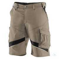 ACTIVIQ Shorts 24505365 2599 sandbraun-schwarz Größe 40 Kontrast-Elemente:...