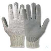 Waredex Work® 550 Größe 10 Hervorragende Schnittschutzwerte, gute...