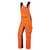 Latzhose 2611 833 8556 orange-anthrazit Größe 44 Latzhose mit extrabreiten...