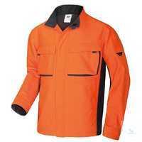 Arbeitsjacke 2612 833 8556 orange-anthrazit Größe 44/46 Arbeitsjacke mit...