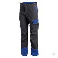 Safety Arbeitshose 27818413-9746 anthrazit-kornblumenblau Größe 46...