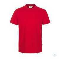 Classic T-Shirt rot, Größe XS Klassisches T-Shirt mit rundem Halsausschnitt,...