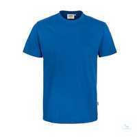 Classic T-Shirt royalblau, Größe XS Klassisches T-Shirt mit rundem...