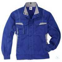Jacke 1345 3411 4695 kornblumenblau-mittelgrau Größe 102 2 Brusttaschen mit...