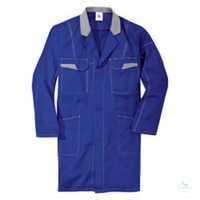 Mantel 17453311 4695 kornblumenblau-mittelgrau Größe S 2 Brusttaschen mit...