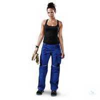 Damen Bundhose 2124 5353 4699 kornblumenblau-schwarz Größe D54...